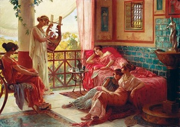 Anatolian Puzzles: LYRE PLAYER