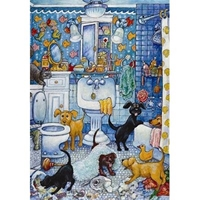 Anatolian Puzzles: More Bathroom Pups