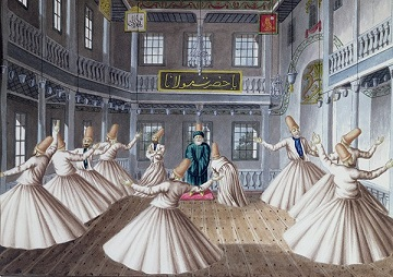 Anatolian Puzzles: WHIRLING DERVISHES