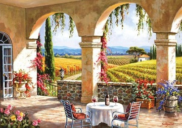Anatolian Puzzles: WINE COUNTRY TERRACE