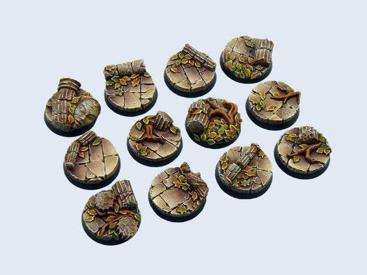 Micro Art Studio: Ancient Bases: Round 25mm