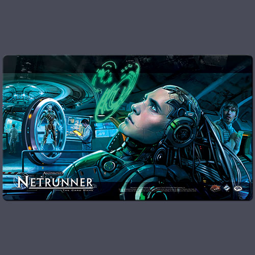 Android: Netrunner Playmat: Creation & Control [SALE]