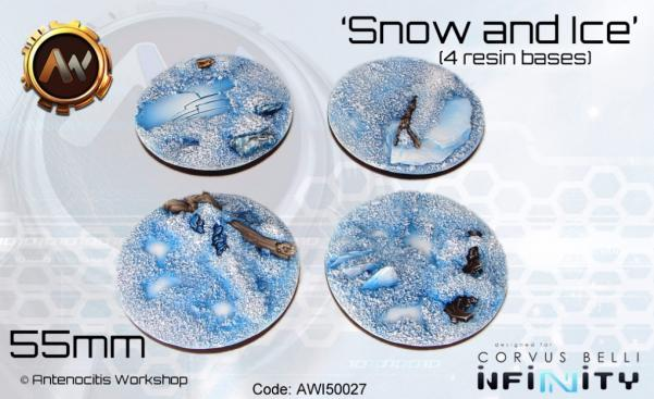 Antenocitis Workshop: Snow & Ice Bases 55mm