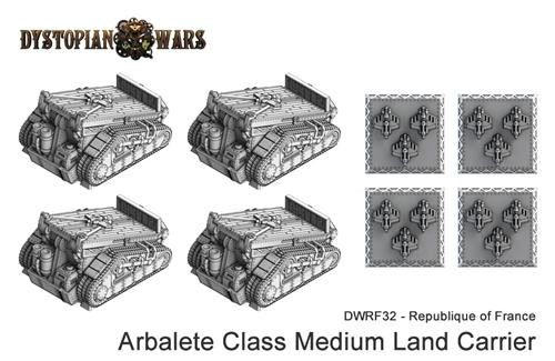 Dystopian Wars: Republique of France: Arbalete Class Medium Land Carrier