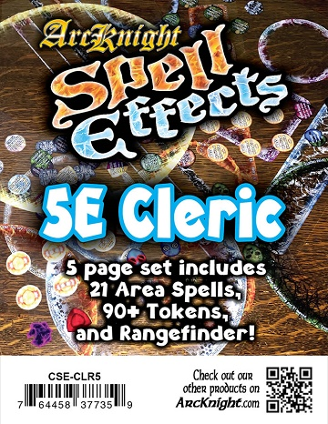ArcKnight: Spell Effects - 5E Cleric