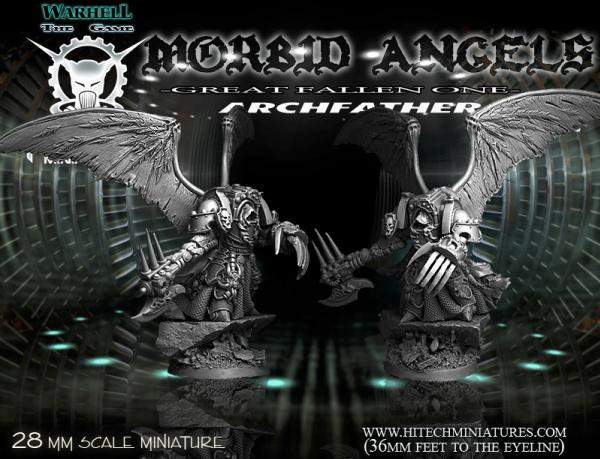 Warhell: Morbid Angels/ ArchFather- Great Fallen One