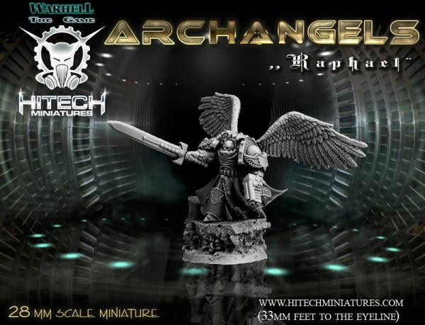 Warhell: Archangles- Archdeacon Raphael
