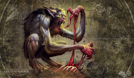 Arkham Horror- The Card Game: Playmat- Bloodlust