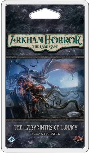 Arkham Horror The Card Game: The Labyrinths of Lunacy [Scenario Pack]