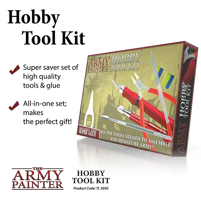 Army Painter: Hobby Tool Kit (New Version)