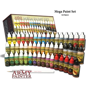 Army Painter: Warpaints: Mega Paint Set III