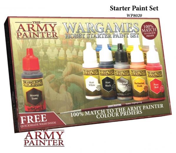 Army Painter: Warpaints: Starter Paint Set (NEW)