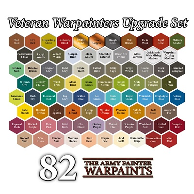 Army Painter: Warpaints: Veteran Warpainters Upgrade Set