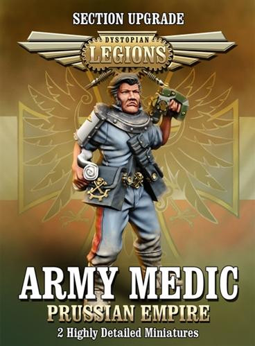 Dystopian Legions: Prussian Empire: Army Medic [SALE]