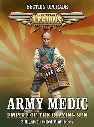 Dystopian Legions: Empire of the Blazing Sun: Army Medic [SALE]