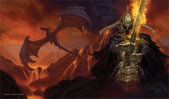 Artists of Magic Playmat 026: Matt Stawicki - Dark Lord
