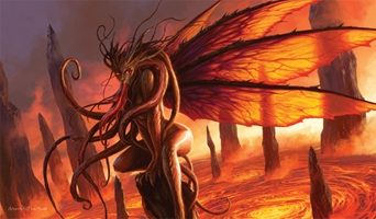 Artists of Magic Playmat 035: Dan Scott - Lair of the Succubus