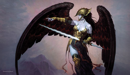 Artists of Magic Playmat 031: Brohm - Golden Helm