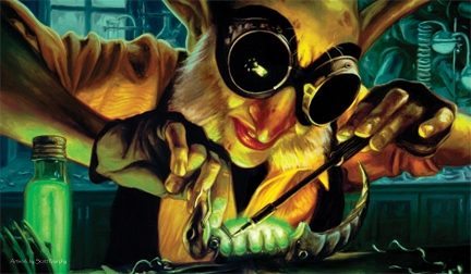 Artists of Magic Playmat 025: Goblin Engineer