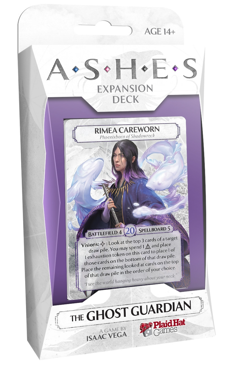 Ashes: Rise of the Phoenixborn- The Ghost Guardian Expansion