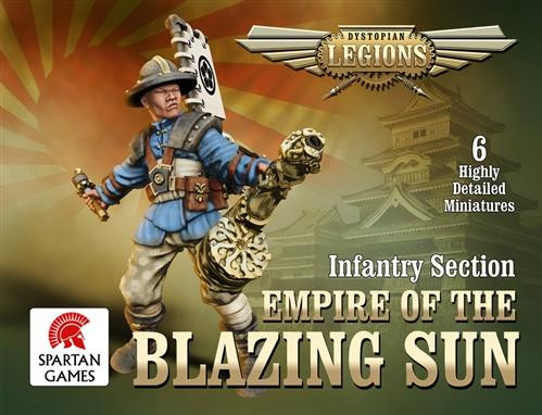 Dystopian Legions: Empire of the Blazing Sun: Ashigaru Infantry Section [SALE]