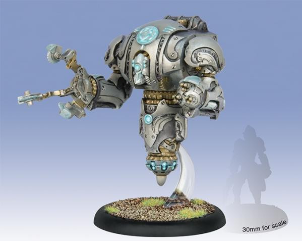 Warmachine: Convergence of Cyriss (36014): Assimilator/Conservator/Modulator Heavy Vector