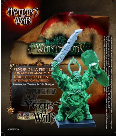 Avatars of War: Lord of Pestilence with Great Weapon and Shield