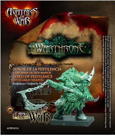 Avatars of War: Lord of Pestilence with Great Weapon
