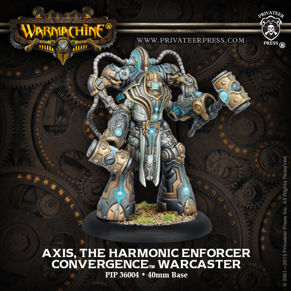 Warmachine: Convergence of Cyriss (36004): Axis, The Harmonic Enforcer