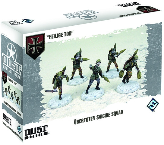 Dust Tactics/ Warfare: Axis: Ubertoten Suicide Squad