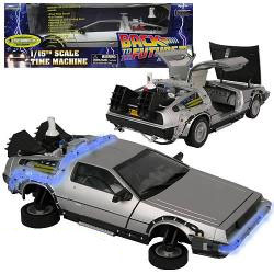 BACK TO THE FUTURE 2 1:18 DELOREAN