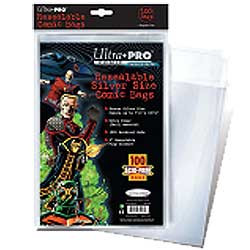 Ultra Pro: Resealable Silver Size Comic Bags