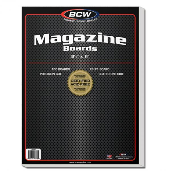 BCW: Back Boards- Magazine Size