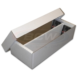 BCW Cardboard Card Box (1600 Count)