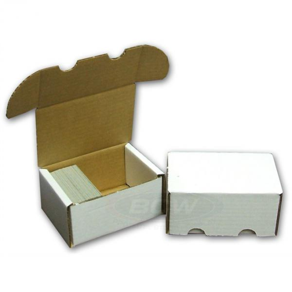 BCW Cardboard Card Box (300 Count)