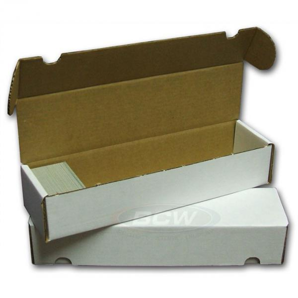 BCW Cardboard Card Box (800 Count)