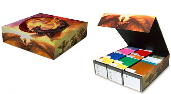 BCW Diversified: Gaming Card Game Box - 3 Row - Good VS Evil