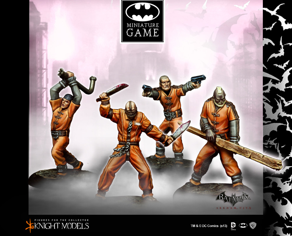 Batman Miniatures Game 017: Blackgate Prisoners (Arkham City)