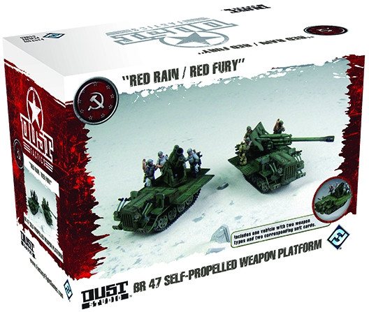 Dust Tactics/ Warfare: SSU: BR-47 Self-Propelled Weapon Platform
