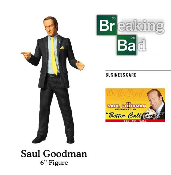BREAKING BAD SAUL GOODMAN 6 FIGURE