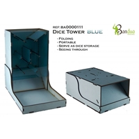 Bandua Wargames: Dice Tower -Blue