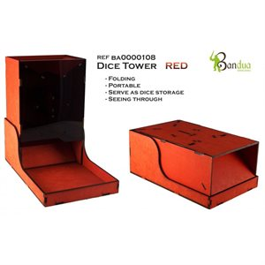 Bandua Wargames: Dice Tower -Red
