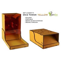 Bandua Wargames: Dice Tower -Yellow