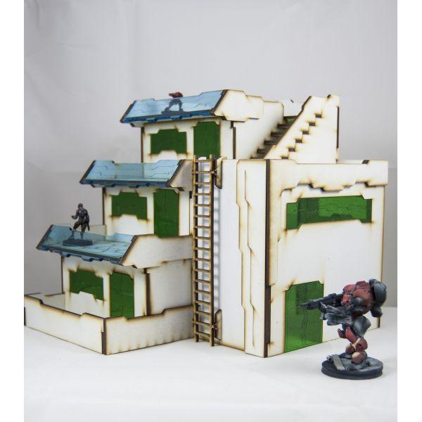 Bandua Wargames - Bandua Wargames: Infinity Terrain Pre-Painted: Atl