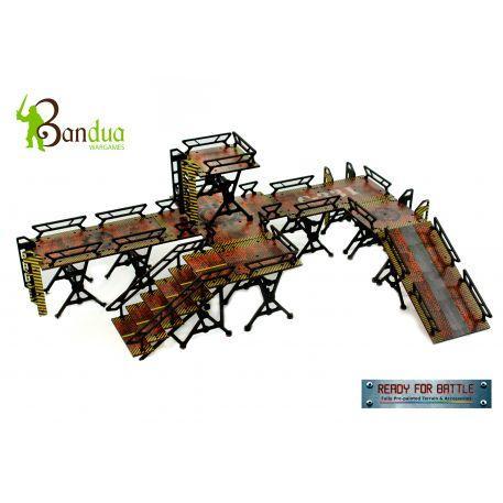 Bandua Wargames - Bandua Wargames: Infinity Terrain Pre-Painted