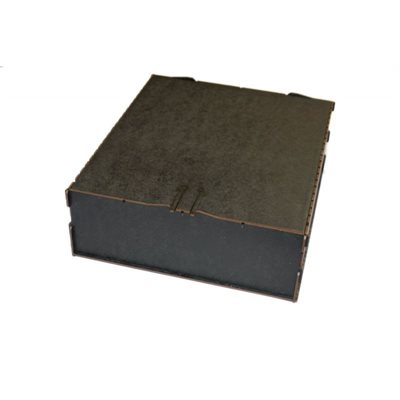 Bandua Wargames:  Trading Card Box - Large Black