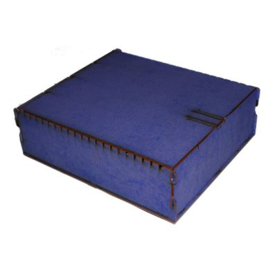 Bandua Wargames:  Trading Card Box - Large Blue