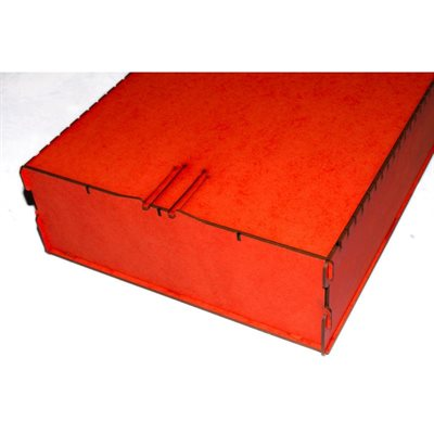 Bandua Wargames:  Trading Card Box - Large Red