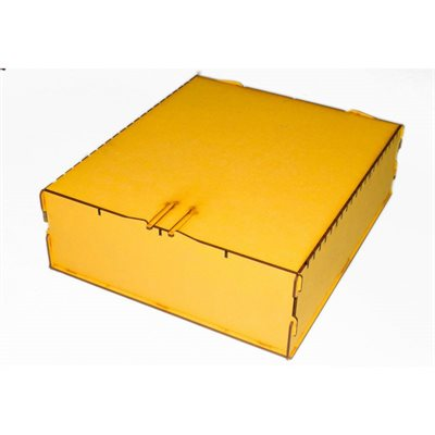 Bandua Wargames:  Trading Card Box - Large Yellow
