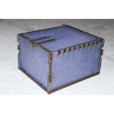 Bandua Wargames:  Trading Card Box - Small Blue